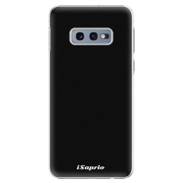 Plastové pouzdro iSaprio - 4Pure - černý - Samsung Galaxy S10e
