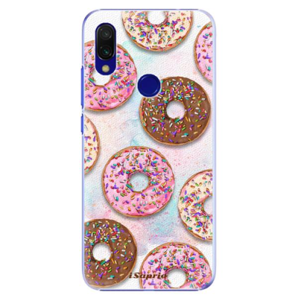 Plastové pouzdro iSaprio - Donuts 11 - Xiaomi Redmi 7
