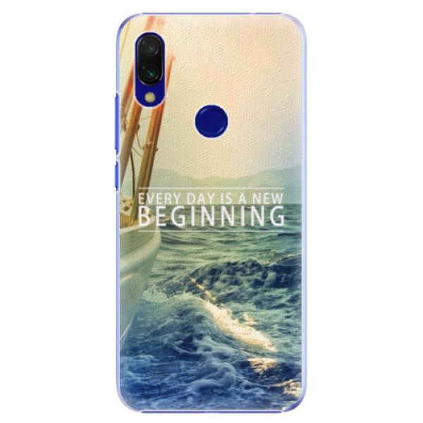 Plastové pouzdro iSaprio - Beginning - Xiaomi Redmi 7