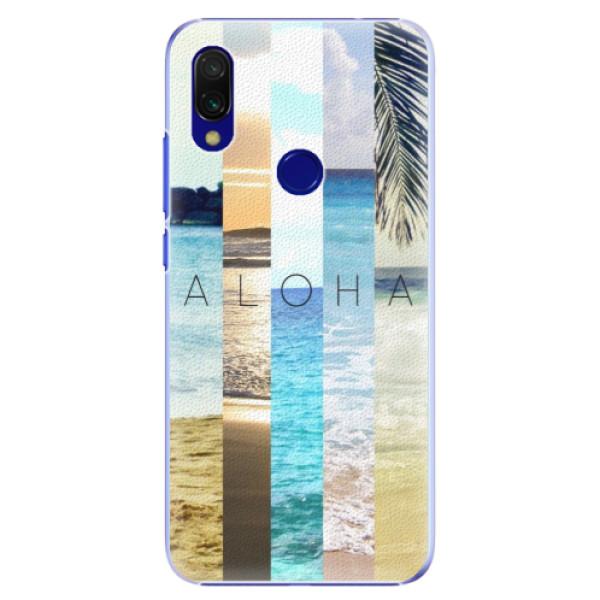 Plastové pouzdro iSaprio - Aloha 02 - Xiaomi Redmi 7