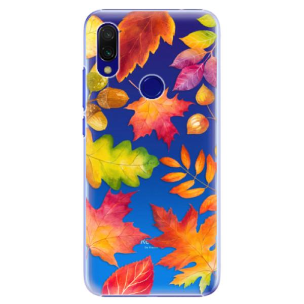 Plastové pouzdro iSaprio - Autumn Leaves 01 - Xiaomi Redmi 7