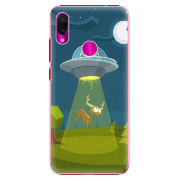 Plastové pouzdro iSaprio - Alien 01 - Xiaomi Redmi Note 7
