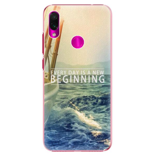 Plastové pouzdro iSaprio - Beginning - Xiaomi Redmi Note 7
