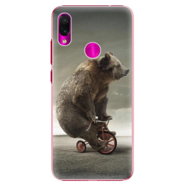 Plastové pouzdro iSaprio - Bear 01 - Xiaomi Redmi Note 7