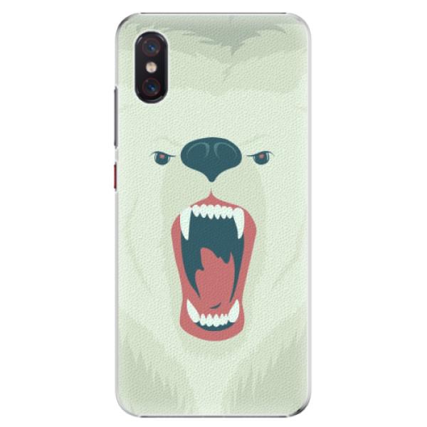 Plastové pouzdro iSaprio - Angry Bear - Xiaomi Mi 8 Pro