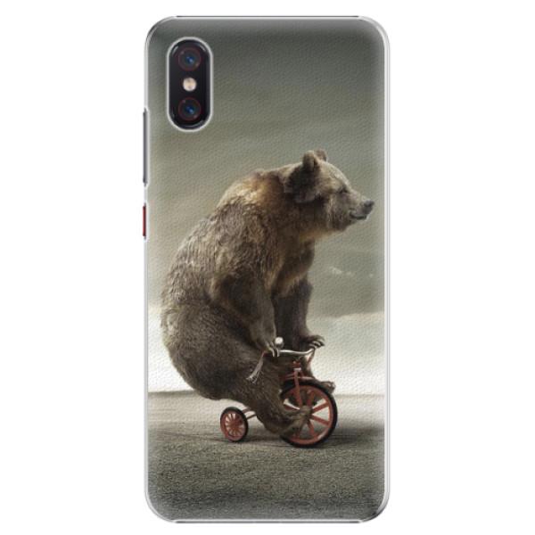 Plastové pouzdro iSaprio - Bear 01 - Xiaomi Mi 8 Pro