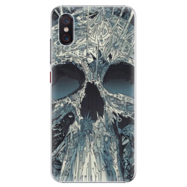 Plastové pouzdro iSaprio - Abstract Skull - Xiaomi Mi 8 Pro