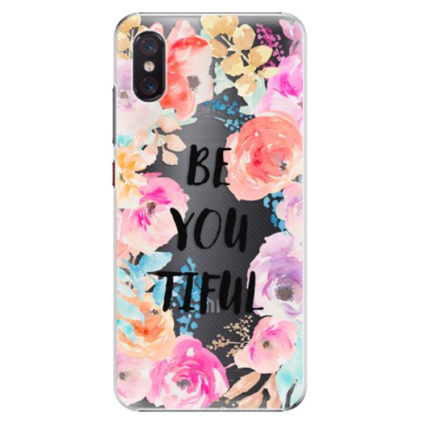 Plastové pouzdro iSaprio - BeYouTiful - Xiaomi Mi 8 Pro