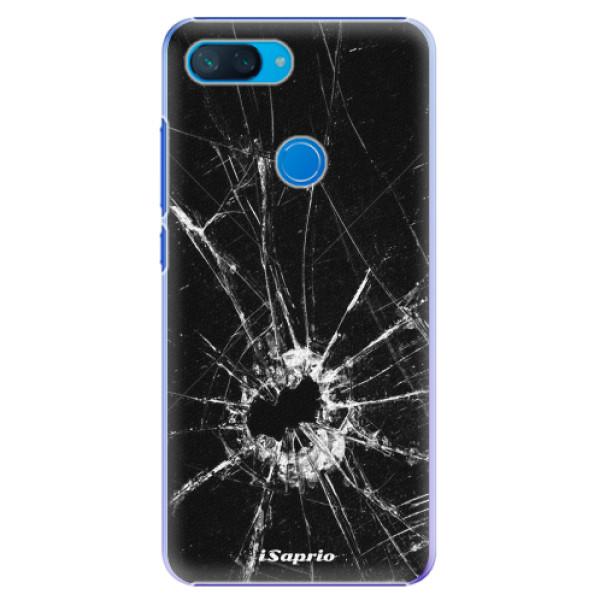 Plastové pouzdro iSaprio - Broken Glass 10 - Xiaomi Mi 8 Lite