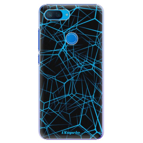 Plastové pouzdro iSaprio - Abstract Outlines 12 - Xiaomi Mi 8 Lite