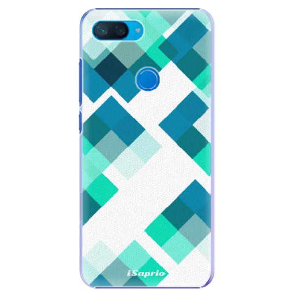 Plastové pouzdro iSaprio - Abstract Squares 11 - Xiaomi Mi 8 Lite