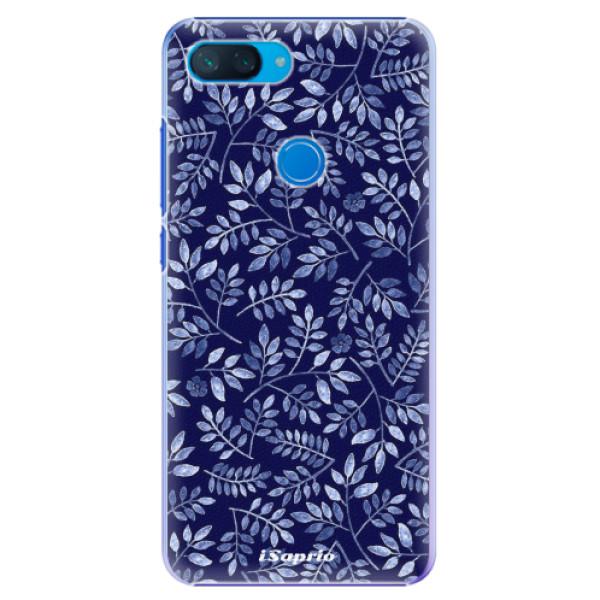 Plastové pouzdro iSaprio - Blue Leaves 05 - Xiaomi Mi 8 Lite