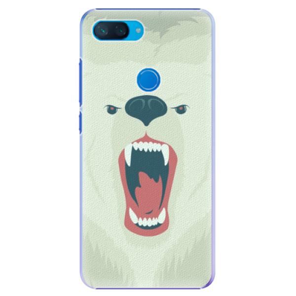 Plastové pouzdro iSaprio - Angry Bear - Xiaomi Mi 8 Lite