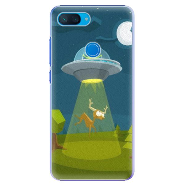 Plastové pouzdro iSaprio - Alien 01 - Xiaomi Mi 8 Lite