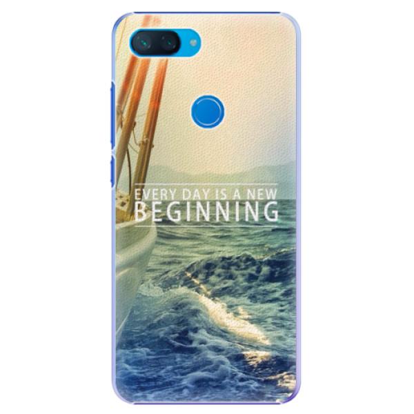 Plastové pouzdro iSaprio - Beginning - Xiaomi Mi 8 Lite