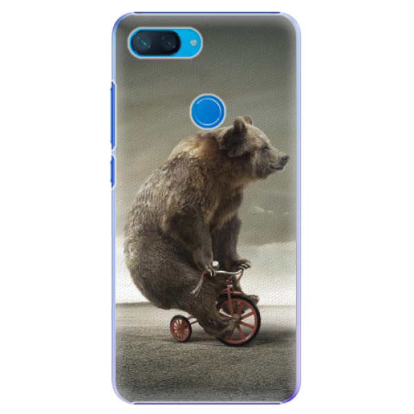 Plastové pouzdro iSaprio - Bear 01 - Xiaomi Mi 8 Lite
