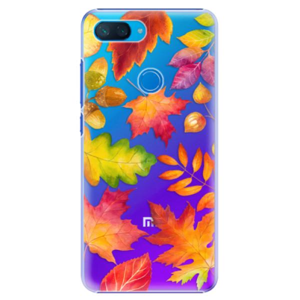 Plastové pouzdro iSaprio - Autumn Leaves 01 - Xiaomi Mi 8 Lite