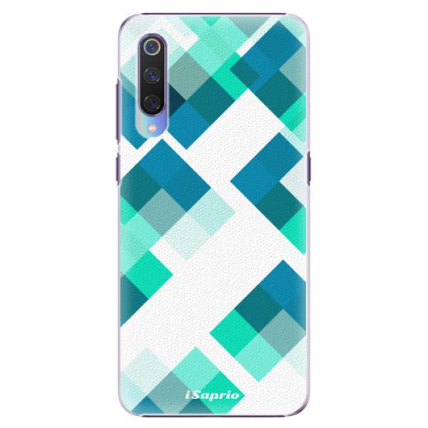 Plastové pouzdro iSaprio - Abstract Squares 11 - Xiaomi Mi 9