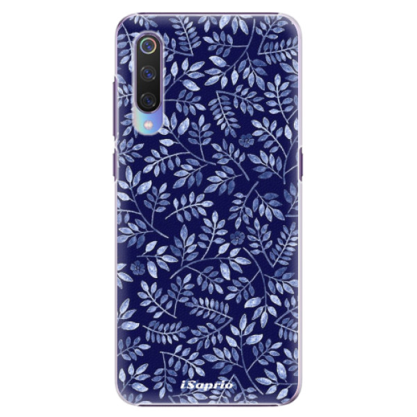 Plastové pouzdro iSaprio - Blue Leaves 05 - Xiaomi Mi 9