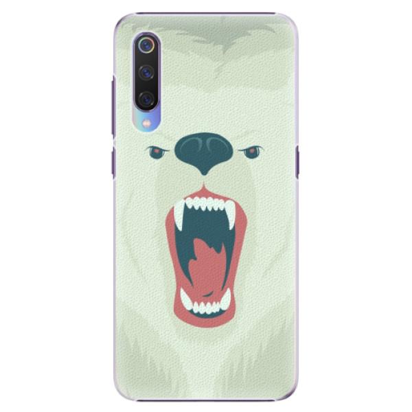 Plastové pouzdro iSaprio - Angry Bear - Xiaomi Mi 9