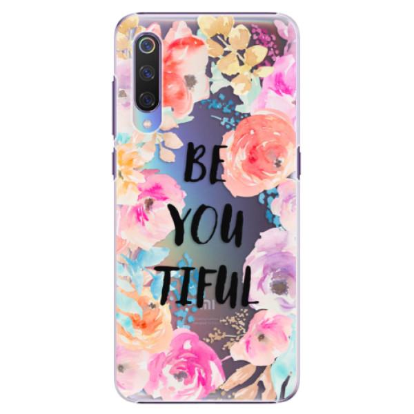 Plastové pouzdro iSaprio - BeYouTiful - Xiaomi Mi 9