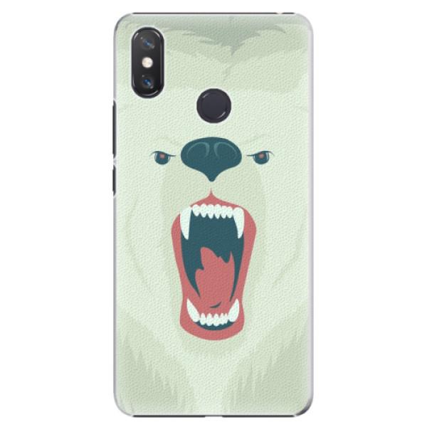 Plastové pouzdro iSaprio - Angry Bear - Xiaomi Mi Max 3