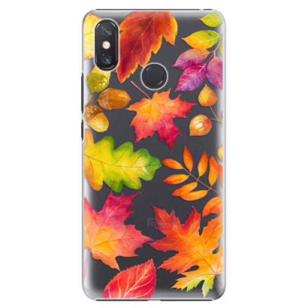 Plastové pouzdro iSaprio - Autumn Leaves 01 - Xiaomi Mi Max 3