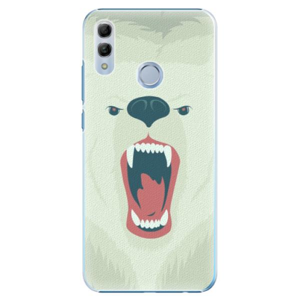Plastové pouzdro iSaprio - Angry Bear - Huawei Honor 10 Lite