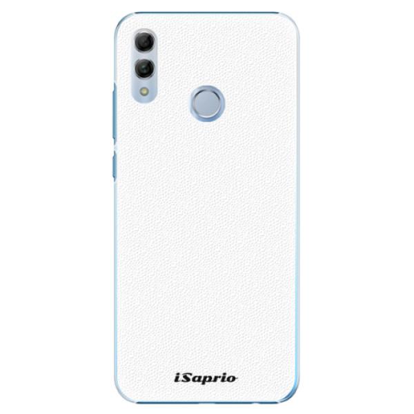 Plastové pouzdro iSaprio - 4Pure - bílý - Huawei Honor 10 Lite