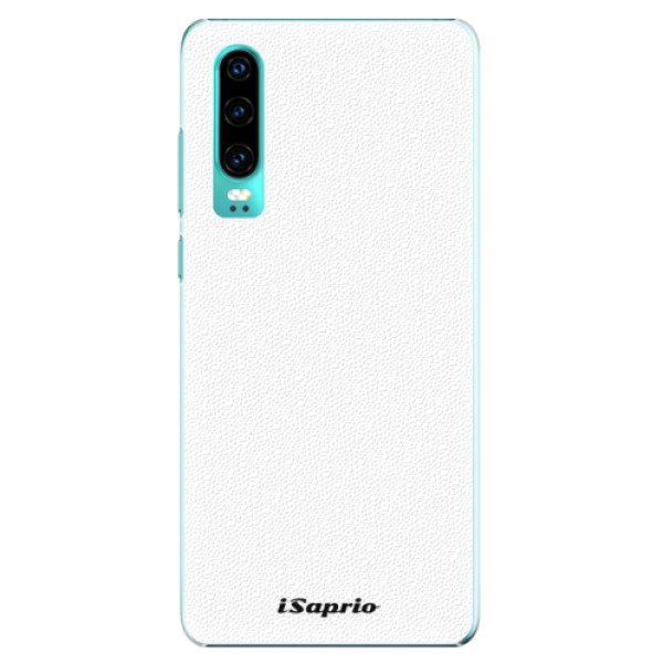 Plastové pouzdro iSaprio - 4Pure - bílý - Huawei P30