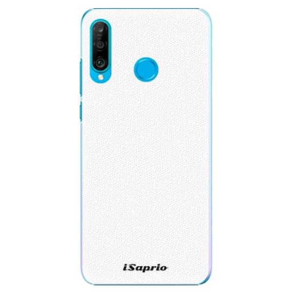 Plastové pouzdro iSaprio - 4Pure - bílý - Huawei P30 Lite
