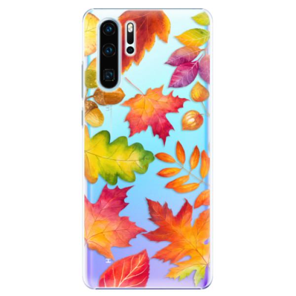 Plastové pouzdro iSaprio - Autumn Leaves 01 - Huawei P30 Pro