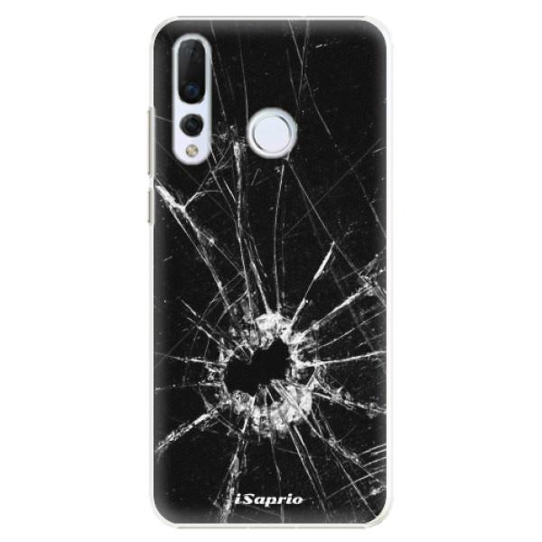 Plastové pouzdro iSaprio - Broken Glass 10 - Huawei Nova 4