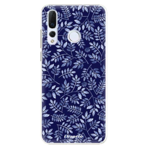 Plastové pouzdro iSaprio - Blue Leaves 05 - Huawei Nova 4