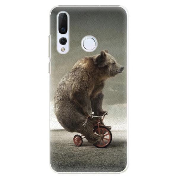 Plastové pouzdro iSaprio - Bear 01 - Huawei Nova 4