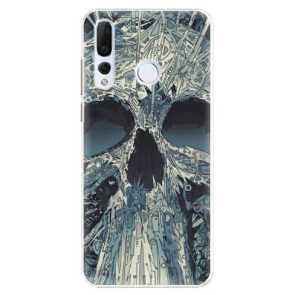 Plastové pouzdro iSaprio - Abstract Skull - Huawei Nova 4