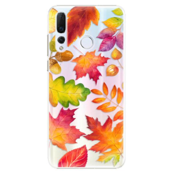 Plastové pouzdro iSaprio - Autumn Leaves 01 - Huawei Nova 4