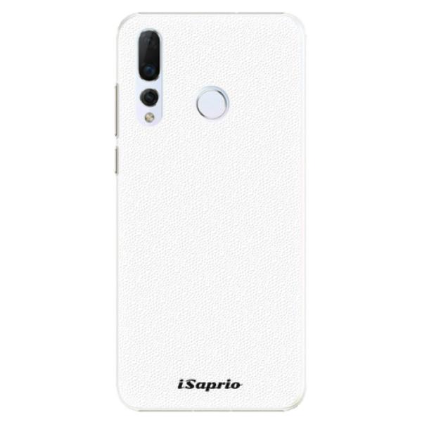 Plastové pouzdro iSaprio - 4Pure - bílý - Huawei Nova 4