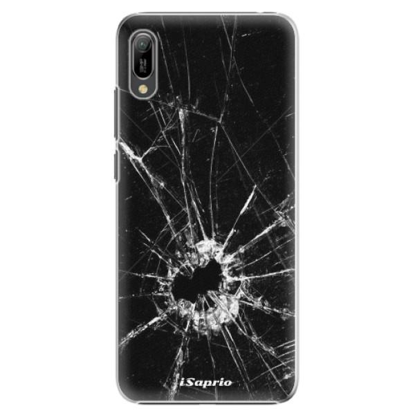 Plastové pouzdro iSaprio - Broken Glass 10 - Huawei Y6 2019