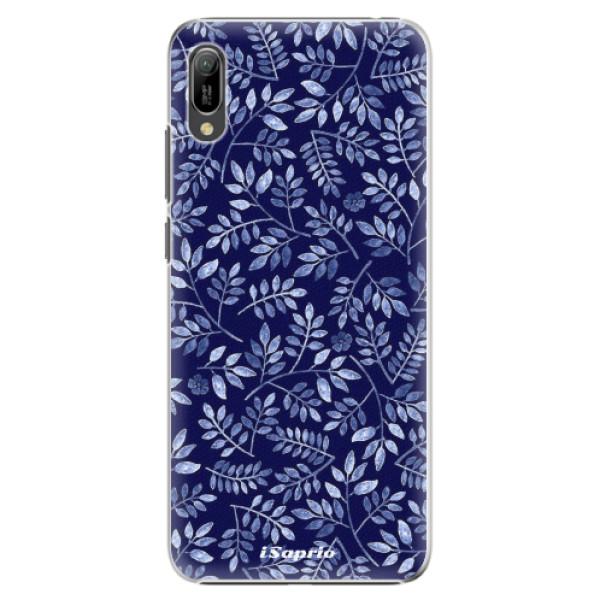 Plastové pouzdro iSaprio - Blue Leaves 05 - Huawei Y6 2019