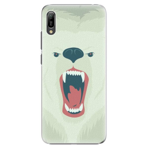 Plastové pouzdro iSaprio - Angry Bear - Huawei Y6 2019