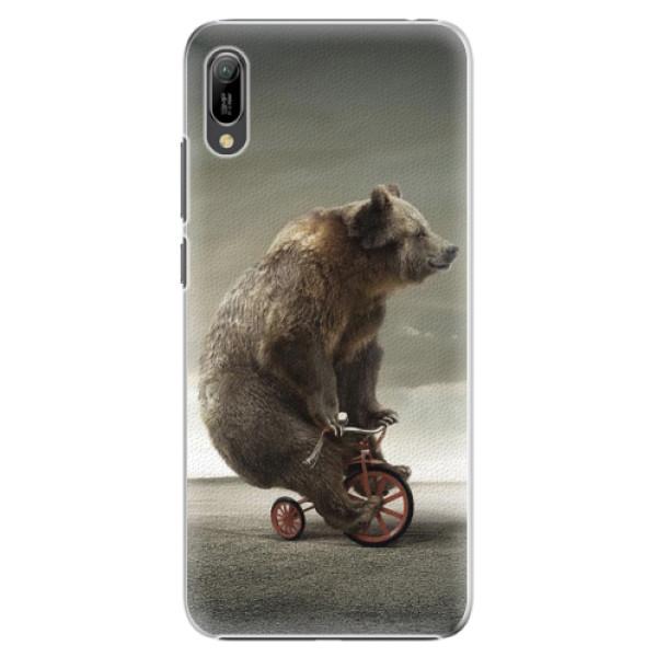 Plastové pouzdro iSaprio - Bear 01 - Huawei Y6 2019