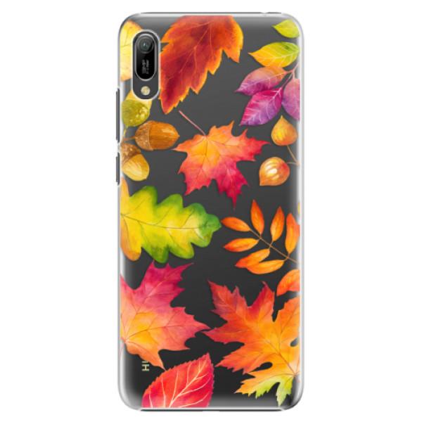 Plastové pouzdro iSaprio - Autumn Leaves 01 - Huawei Y6 2019
