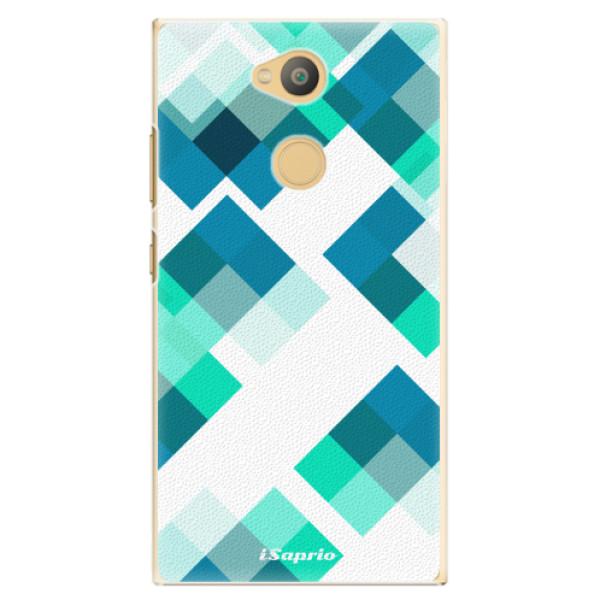 Plastové pouzdro iSaprio - Abstract Squares 11 - Sony Xperia L2