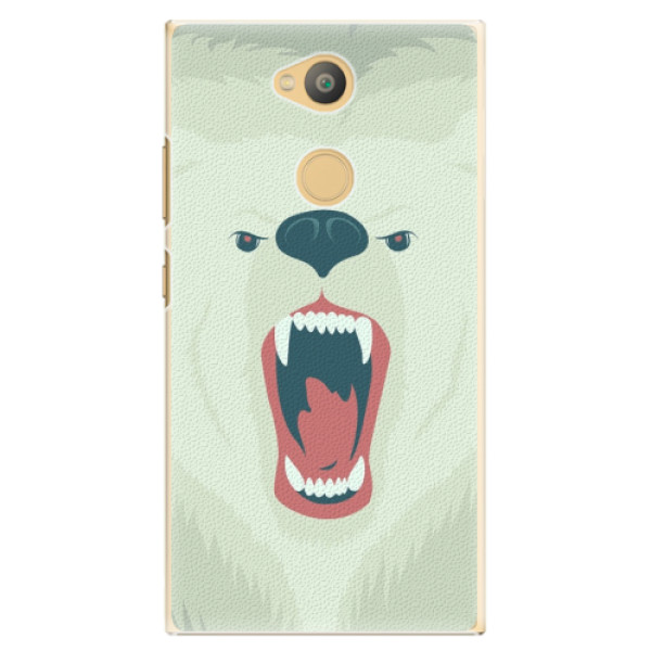 Plastové pouzdro iSaprio - Angry Bear - Sony Xperia L2