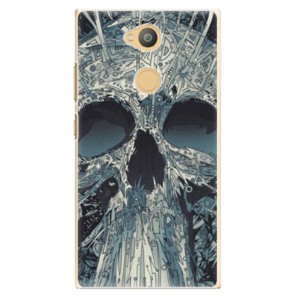 Plastové pouzdro iSaprio - Abstract Skull - Sony Xperia L2