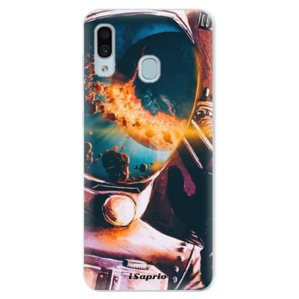 Silikonové pouzdro iSaprio - Astronaut 01 - Samsung Galaxy A30