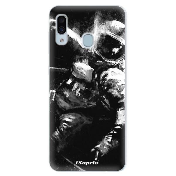 Silikonové pouzdro iSaprio - Astronaut 02 - Samsung Galaxy A30
