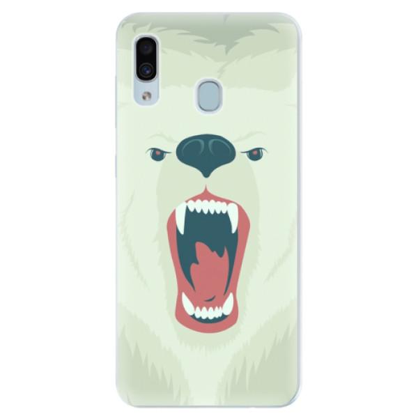 Silikonové pouzdro iSaprio - Angry Bear - Samsung Galaxy A30