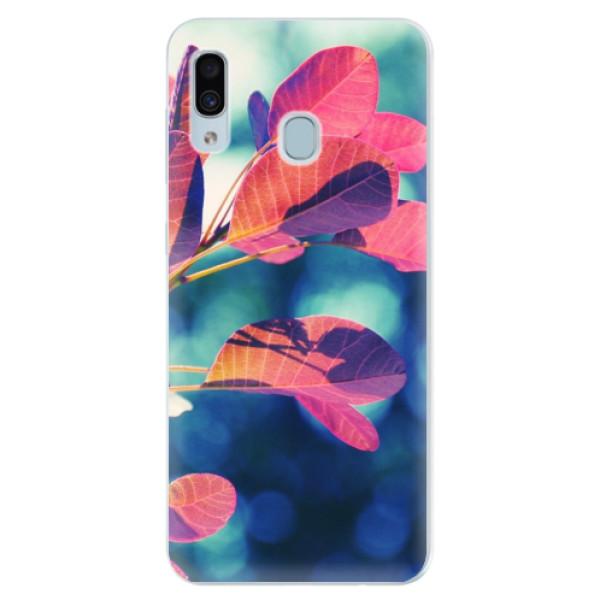 Silikonové pouzdro iSaprio - Autumn 01 - Samsung Galaxy A30